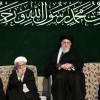 Hz Fatıma sa'ın yas merasiminin ilk gecesi İslam inkılabı rehberi huzurunda düzenlendi