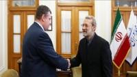 Laricani: İran ve Rusya ortak işbirliğinin bölgede olumlu sonuçları oldu