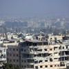 Suriye'de teröristler başkente top mermisi attılar