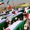 Kutsal Savunma dönemine ait 115 şehidin pak naaşı İran'a getirildi