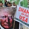 Pakistan'da Amerika ve İsrail aleyhinde gösteri