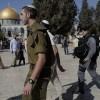 Onlarca siyonist yahudi Mescid-i Aksa'ya saldırdı