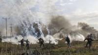 Siyonist rejim Filistinli göçmenlere karşı kimyasal gazlar kullanıyor