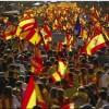 Barselona'da 300 bin kişi Katalonya'nın bağımsızlığı için sokağa döküldü