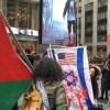 Siyonist İsrail'in Gazze katliamı New York'ta protesto edildi