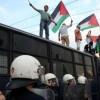 Yunanistan'da İsrail bayrağı ateşe verildi