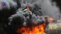 Siyonist İsrail güçlerinin saldırılarında 200'den fazla Filistinli yaralandı
