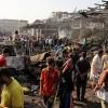 Bağdat'ta patlamada 100 ölü ve yaralı