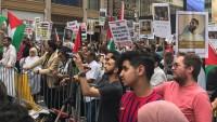 New York ve Paris'te İsrail karşıtı gösteri