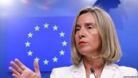 Mogherini'nin Bercam Nükleer Anlaşmasının Korunmasına ve  SPV'nin uygulanmasına Vurgusu