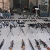 Kunaytra'da ABD ve siyonist İsrail yapımı silahlar ele geçirildi