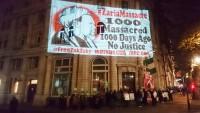 Londra'daki protestocular Şeyh Zakzaki'nin serbest bırakılmasını istediler