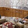 Lacirani, Suriye parlamento heyetini kabul etti