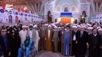 İslami Vahdet Konferansı'na katılan misafirler İmam Humeyni'nin türbesini ziyaret etti