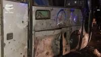 Mısır'da turist otobüsüne saldırı: 2 ölü