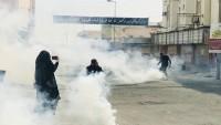 Bahreyn halkının barışçı gösterileri Al-Halife rejimi işbirlikçilerince bastırıldı