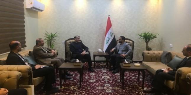 Emir Abdullahiyan Bağdat ve Kerbela'da Iraklı yetkililerle görüştü