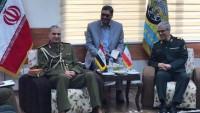 İran Genelkurmay Başkanı General Bakıri Irak GenelKurmay başkanı ile görüştü