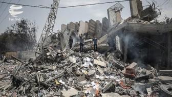 Irkçı İsrail'in Gazze'ye son saldırılarında en az 800 ev yıkıldı