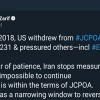 Zarif: İran, ABD'nin devam etmesini imkansız kıldığı eylemleri durdurdu