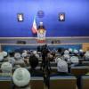 Hasan Ruhani: Bugün İran'da Şii ve Sünni Düşmana karşı Yanyana Durmuştur