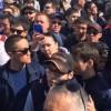 Kazakistan'da seçimler protestosu edildi