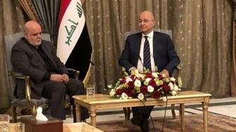 Irak cumhurbaşkanı ve İran büyükelçisi arasında bölgesel gelişmeler ele alındı