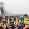 İran Halkı, ABD Ve İsrail Bayraklarını Ayakları Altına Alarak Çiğnediler