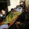 Siyonist İsrail askerlerinin şehit ettiği Filistinli çocuk toprağa verildi
