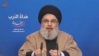 Seyyid Hasan Nasrallah: Direnişin gücü her geçen gün artıyor