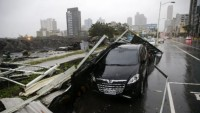 Çin'de tayfun: 15 ölü