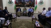 Uluslararası Kızılhaç Komitesi Başkanı, Hamas Lideri Es-Sinvar'la Görüştü