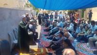 Kudüs Halkı İşgal Rejiminin Gasp Etmek İstediği Evin Önünde Cuma Namazı Kıldı