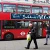 İngiltere'de Otobüsler ''Peygamber Efendimizin'' Hadisleriyle Süslendi