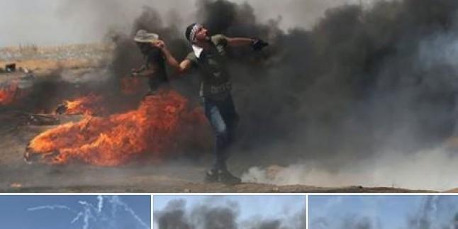 Foto: Filistin Halkının İntifadası Sürüyor