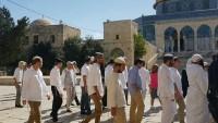 41 Yahudi Yerleşimci Bu Sabah Mescid-i Aksa'ya Baskın Düzenledi