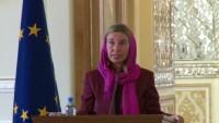 Mogherini: İran ve Avrupa'nın Yemen krizini çözme çabaları verimli oldu