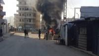 Büyük Şeytan ABD öncülüğündeki koalisyon Suriye'de yine cami vurdu