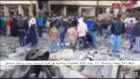 Teröristler Şam'ı Kana Buladı: Şehid Sayısı 50'ye yükseldi
