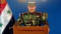 Suriye Hava Güçleri, son 2 haftada düzenledikleri 363 hava operasyonu sonucunda teröristlere ait 1375 hedefi yok etti