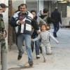 Lübnan'ın Aynu'l Helva mülteci kampında çatışmalardan kaçanlar Sayda kentine göç ediyor
