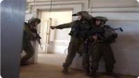 Siyonist İsrail güçleri, Kudüs'te bir spor kulübü'ne baskın düzenledi