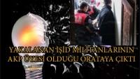 IŞİD'ten tutuklananlar AKP üyesi çıktı