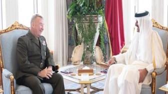 Centcom terör örgütü komutanı Doha'da