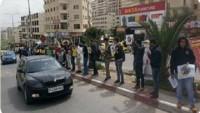 Filistinli Üniversite Öğrencileri El Ele Eylemiyle Siyasi Gözaltıları Protesto Etti