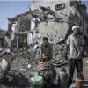 İsrail'in Çimento Girişini Engellemesi Yüzünden Gazze'de İmar Durdu