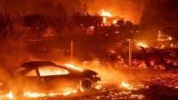 California'daki yangında 5 ölü, 150 bin tahliye