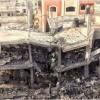 Siyonist İsrail Savaş Uçaklarının Hazreti Aişe Camisini Bombalaması Neticesinde 2 Filistinli Ağır Yaralandı
