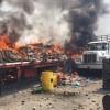 Foto: Kahraman Venezuela Halkı, Ülkeye Sokulmak İstenen Tırları Ateşe Verdi