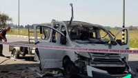 AllahuEkber! İslami Cihad Ve Hamas Mücahidlerinin Ortaklaşa Düzenlediği Siyonist İstihbarat Subaylarının İçinde Bulunduğu Jipi Kornet Tipi Füzeyle Vurması Sonucu İstihbarat Komutanı Albay İle Birlikte 3 Siyonist Öldü